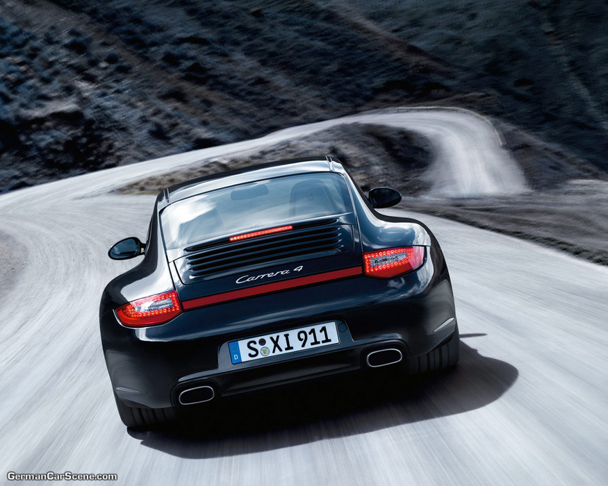 NEW GENERATION PORSCHE 911 INITIATIVE CONTINUES WITH CARRERA 4/4S COUPE AND