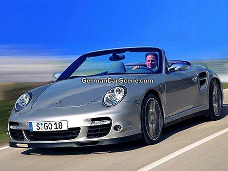 Porsche 911 Turbo Convertible. Porsche 911 Turbo Cabriolet: