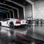 Lamborghini Aventador by ADV.1 Wheels