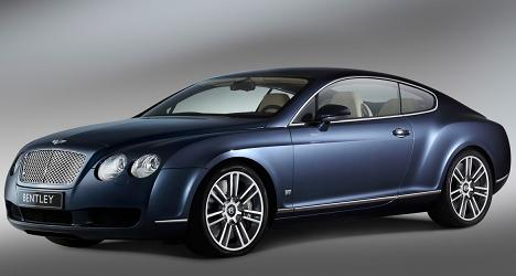 bentley continental diamond series