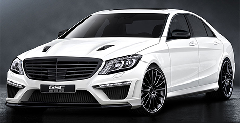 German Special Customs Mercedes S-Class