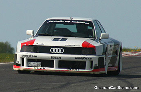 Hurley Haywood in the Audi IMSA GTO
