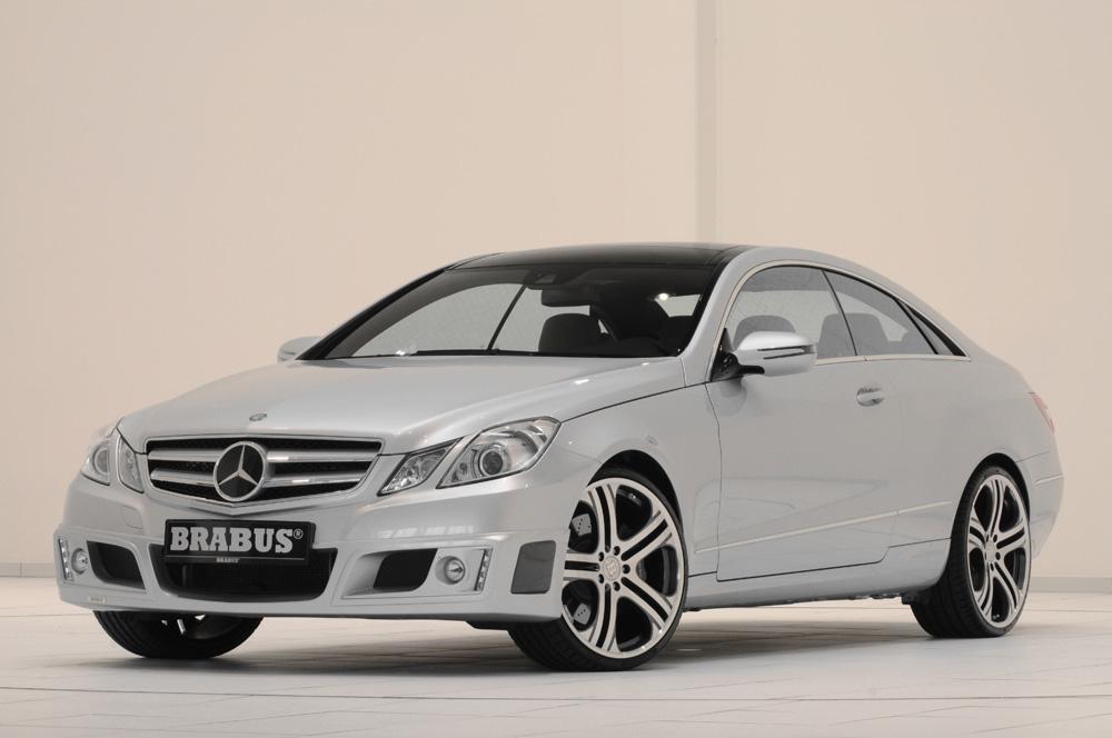 2010 Brabus Mercedes Benz E Class Coupe. The new Mercedes E-Class Coupe