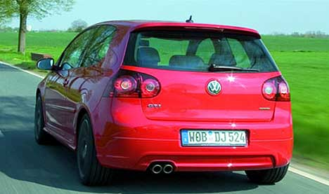 2006 Volkswagen Golf Gti Edition 30. edition 30 271006. [Source: VW