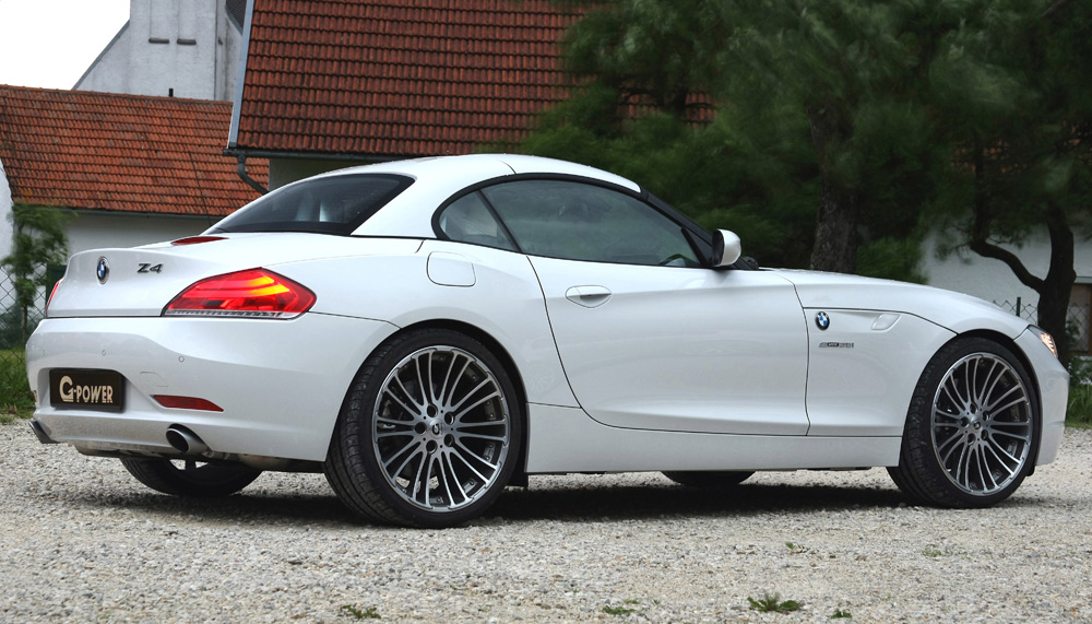 Bmw Z4 35i. suspension of the BMW Z4,