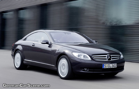2009 Mercedes-Benz CL550 4 MATIC