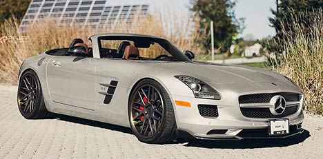 Mercedes SLS AMG by Pfaff Tuning